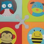 Skip Hop Alfombrilla De Juegos Playspot Estilo Zoo-2