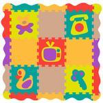 Alfombra Puzzle De Espuma Color2