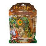 1 Blíster 3 Figuras + Amuleto Huntik (modelo Aleatorio)