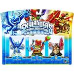 Skylanders Triple Pack – Whirl Wind/double Trouble/drill Sergeant