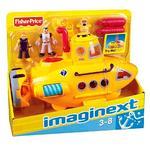 Imaginext – Súper Vehículo De Rescate – Submarino-2