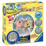 Puzzle Ball Bob Esponja Lámpara 108 Piezas