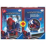 - Puzzleball Spiderman + Puzzle Spiderman Ravensburger
