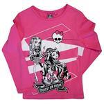 Monster High – Camiseta Manga Larga Rosa – 8 Años