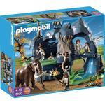 Playmobil Cueva Prehistórica Con Mamuts