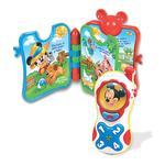 Pack Libro+teléfono De Mickey Clementoni