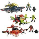 """Aviones """"héroes Del Aire"""" Imaginext Mattel"""
