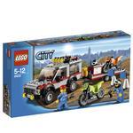 Camioneta Remolque Para Motocross Lego