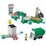 Juego Action Links: Fuga De La Incineradora Mattel