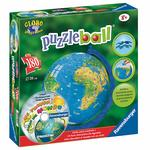 Puzzle Ball Mapamundi Con Cd Planeta Junior Ravensburger