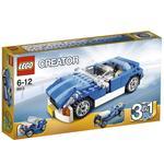 Coche Descapotable Azul Lego