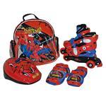 Sets Patín En Línea Con Protecciones Spiderman Talla 31-34 Importación