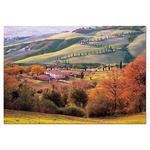 """Puzzle 1500 Piezas """"la Toscana, Italia"""""""
