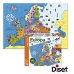 Puzzle Paises De Europa Diset
