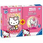 Puzzle 100 Con Puzzle Ball Hello Kitty Ravensburger