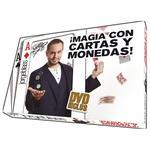 Juego De Magia En Dvd Cartas Y Monedas Con Jorge Blass Oid Magic