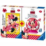 Puzzle + Puzzleball Minnie Mouse Ravensburger