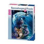 - Puzzle 1000 Piezas – La Mujer De Los Lobos Ravensburger