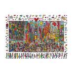 - Puzzle 1000 Piezas – James Rizzi: Times Square Ravensburger