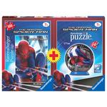 Puzzle + Puzzle Ball Spiderman Ravensburger