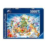 - Puzzle 1000 Piezas – Navidad Disney Ravensburger