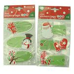Xmas Stickers Tags