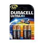 4 Pilas Duracell Ultra Aa M3