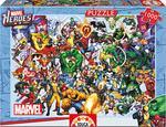 Puzzle Adulto 1000 Piezas Los Héroes De Marvel