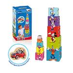 Cubos Apilables De Madera Mickey Mouse Club House Diset