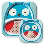 Vajilla Para Niños Búho Zooset Owl