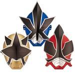Máscaras Súper Samurai Power Ranger Bandai