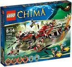 Lego Chima El Buque Cocodrilo De Cragger