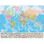 Puzzle Mapa Del Mundo 1500 Piezas