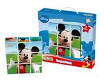 Mickey Mouse Club House Rompecabezas 9 Cubos