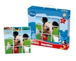 Mickey Mouse Club House Rompecabezas 9 Cubos