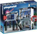 Playmobil Comisaría De Policía Con Sistema De Alarma