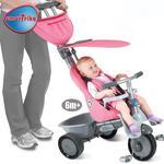 Recliner Pink Triciclo 4 En 1