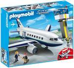 Playmobil Avión De Pasajeros Y Mercancías