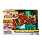 Playskool Heroes – Marvel Iron Man Adventures – Im Deluxe Vehículo Con Figuras