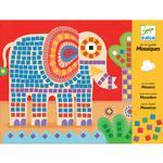 Mosaico Elefante Y Caracol Djeco