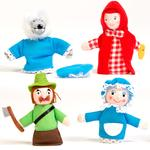 Marionetas De Dedo De La Caperucita Roja Eurekakids
