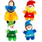 Marionetas De Dedo De Blancanieves Y Los Enanitos Eurekakids