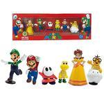 Pack 6 Figuras De Super Mario