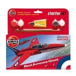 Airfix – Caza Red Arrows Gnat