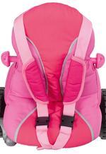 Triciclo Baby Plus Music Rosa Con Toldo Juguettos-3