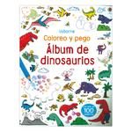 Coloreo,pego Album Dinosaurios