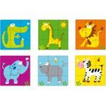Puzzle Infantil De Bloques De Animales-8