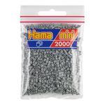 Hama Mini Bolsa 2000 Perlas Gris