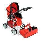 Carro Para Muñeca Bebé – Rojo