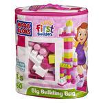 Mega Bloks – Bolsa Maxi 60 Piezas Rosa